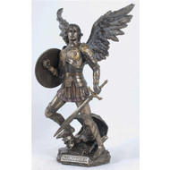 "St. Michael the Archangel, 1275"", Cold-Cast Bronze"