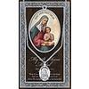 Genuine Pewter Saint Anne Medal
