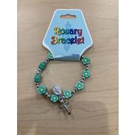 Green Rosary Bracelet