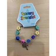 Mult-Color Rosary Bracelet