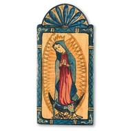 Our Lady of Guadalupe Pocket size Retablo