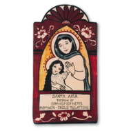 Saint Ana Pocket Size Retablo