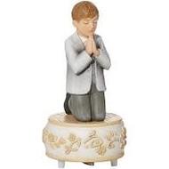 First Communion Boy Music Box