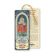 Infant Jesus of Prague Bookmark with Tassel