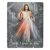 "Divine Mercy  15"" Plaque"