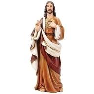"Sacred Heart of Jesus Statue, 24"""