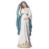 """Pregnant Madonna Statue,  6""""H"""
