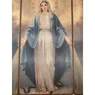 Our Lady of Grace Wall Plaque 15x11