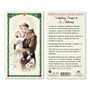Unfailing Prayer to St. Anthony Laminated Holy Card Made in Italy