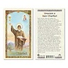 Oracion a San Charbel Laminated Holy Card, Spanish