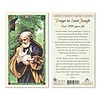 Prayer to St. Joseph, Over1900 Years Old Laminated Prayer Card