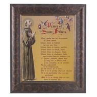 "St. Francis Prayer, Art Frame 11"" x 13"""