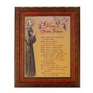 "St. Francis Prayer, Art Frame 10"" x 12"""