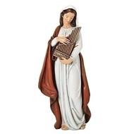 """St. Cecilia Figure 6""""H; Renaissance Collection"""