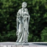 """ST Joseph 20""""H Garden Statue"""