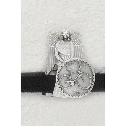 Auto Visor Clip Bicycle w/Angel