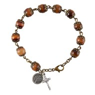 Red Rosary Bracelet of St. Benedict