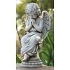 """Angel Outdoor Statue, 17"""""""