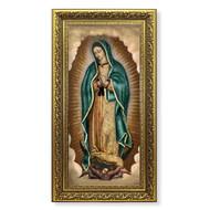 Our Lady of Guadalupe Gold-Leaf Framed Art
