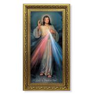 Divine Mercy Gold-Leaf Framed Art