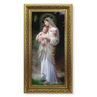Divine Innocence Gold-Leaf Framed Art