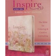 Inspire Catholic Bible, Large Print, for Coloring & Creative Journaling