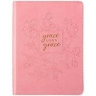 Grace upon Grace- Journal Lux-Leather Flexcover
