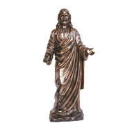 """Welcoming Christ in cold cast bronze 42"""""""