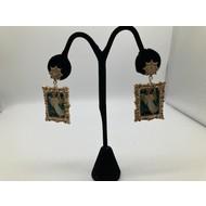 Angel of Peace Vintage Dangle Earrings