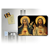 Antique Sacred and Immaculate Heart Magnet