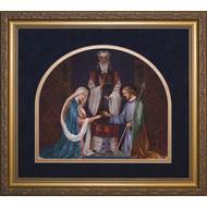 "Wedding of Joseph and Mary, Frame 11"" x 12 1/2"""