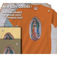 Our Lady of Guadalupe Children's T-Shirt, Prairie Dust