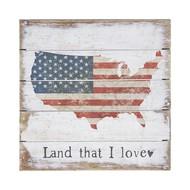 """Land I Love, 6""""x6"""""""