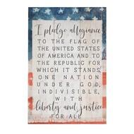"Pledge of Allegiance 10.75""x16""x5"""