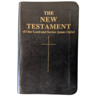 The New Testament of Our Lord and Savior Jesus Christ, Confraternity Pocket New Testament