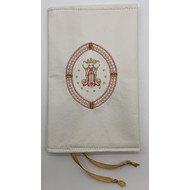Magnificat Covers, Ave Maria Emblem with Oblong Edging