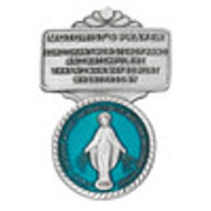 Our Lady of Grace Visor Clip