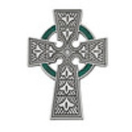 Celtic Cross Visor Clip