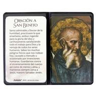 St. Benedict Prayer Folder in Spanish