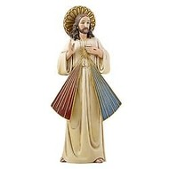"Divine Mercy Statue, 8""Figurine"
