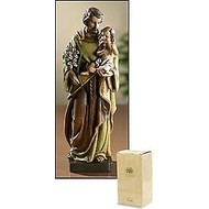 St. Joseph with Child Statue, 8'H