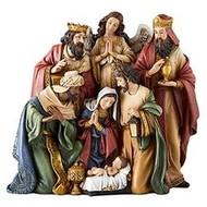 """Nativity. 8-3/4"""""""