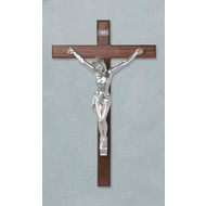 """Crucific Wood 15"""" made in Italy"""