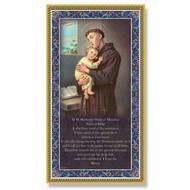 St. Anthony Plaque, 5X9