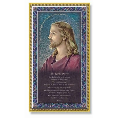 """The Lords Prayer Plaque, 5x9"""""""
