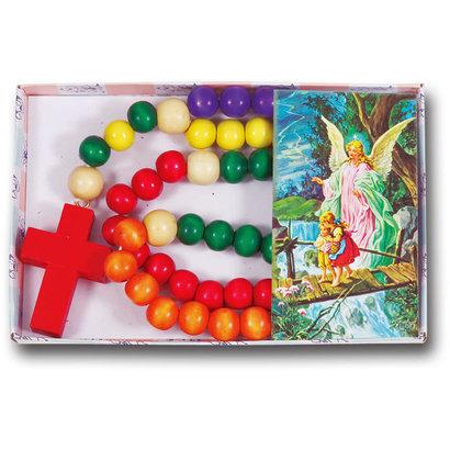 boxed woden kiddie rosary