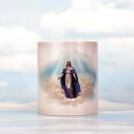 "Virgen Mary ""Miracle"" Mug, Heat Changing Mug"
