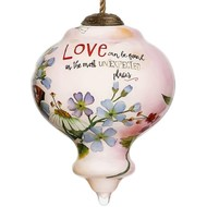 Love Can be Found Wedding Ornament