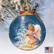 My-Christmas-Wish Wood Ornament Dona Gelsinger Holiday