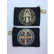St. Benedict Medal  Rosary Pouch